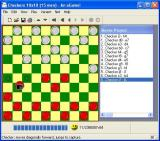 Checkers Windows A 10x10 game in progress. The game records all moves made and there is an option to print these