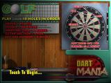 Dart Mania Windows The help screen for a game of Golf