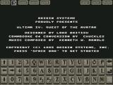 Ultima IV: Quest of the Avatar iPad Started the game (landscape orientation)