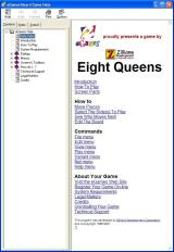 8 Queens Windows There is a comprehensive user guide, this is accessed via the menu bar and opens in a new window