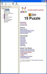 8 Puzzle Windows The game has a comprehensive user guide which opens in a new window.