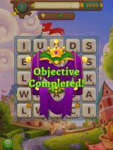 AlphaBetty Saga iPad Objective completed