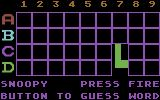 Matchboxes Commodore 64 In the guessword mode each match reveal some of the hidden word