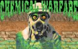 Chemical Warfare DOS Title screen.