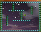 Boing Windows Level 4. That ball at the top got stuck inside the jagged-shaped diamond sprite.