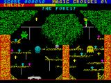 Chiller ZX Spectrum Climb up the trees