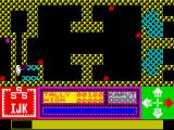 H.A.R.D ZX Spectrum Break the blocks with your laser to get through