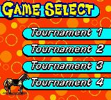 Mary-Kate and Ashley: Winner's Circle Game Boy Color Game select. There are four tournaments.