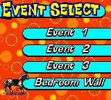 Mary-Kate and Ashley: Winner's Circle Game Boy Color Event select.