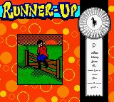 Mary-Kate and Ashley: Winner's Circle Game Boy Color Runner-up screen.