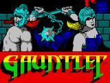 Gauntlet ZX Spectrum Title screen