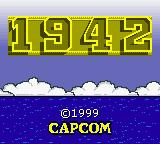 1942 Game Boy Color Title Screen