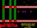 Gauntlet II ZX Spectrum Force fields will drain your energy fast