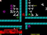 Gauntlet II ZX Spectrum An intersection of many doors