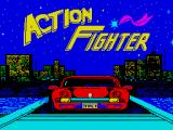 Action Fighter ZX Spectrum Loading screen