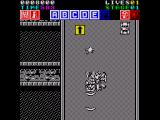Action Fighter ZX Spectrum More power ups give you a rear laser as well