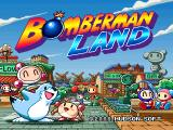 Bomberman Land PlayStation Title screen.