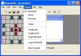 Tafl Windows The game starts with the Brandubh variant but others can be accessed via the menu bar