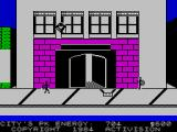 Ghostbusters ZX Spectrum Set a trap for this ghost