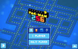 Pac-Man 256 Windows Main menu with a loadout to start a new game