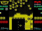 Sky Shark ZX Spectrum Taking off to begin your mission