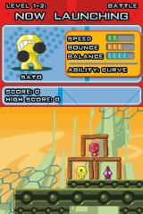 Gogo's Crazy Bones Nintendo DS Battle Mode: the targets for the second level