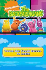 The Backyardigans Nintendo DS Title screen.