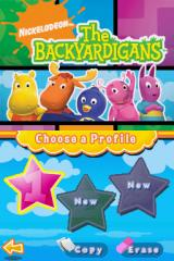 The Backyardigans Nintendo DS Select a file.