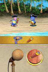 The Backyardigans Nintendo DS In this mini-game you can use the microphone to speak.