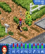 The Sims: Bustin' Out N-Gage Going into your farm.