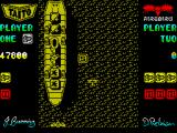"Sky Shark ZX Spectrum Collect the ""S"" to power up your plane"