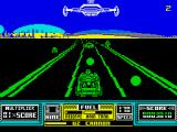 RoadBlasters ZX Spectrum Collect extra fuel and power ups