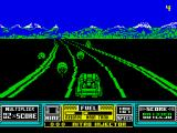 RoadBlasters ZX Spectrum Watch out for motorcycles