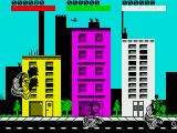 Rampage ZX Spectrum Beginning the first level