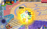 Kingdom Hearts: Unchained χ Android The fights ends with an explosion.