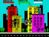 Rampage ZX Spectrum Smashing some buildings