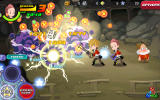 Kingdom Hearts: Unchained χ Android Defeating enemies with some help from a friend.