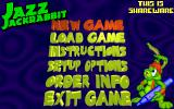 Jazz Jackrabbit DOS Menu