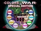 Colors of War Windows The Battle configuration screen