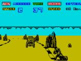 Enduro Racer ZX Spectrum There are jeeps to overtake in the desert