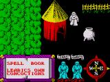 Feud ZX Spectrum You begin outside your hut