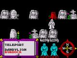 Feud ZX Spectrum Travel through a spooky grave yard