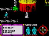 Feud ZX Spectrum Villagers roam around the town