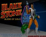 Blake Stone: Aliens of Gold Windows Title screen