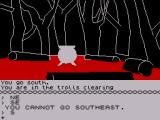 The Hobbit ZX Spectrum The troll camp