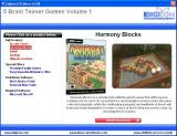 5 Brain Teaser Games: Volume 1 Windows The install menu describes each game, this is Harmony Blocks