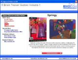 5 Brain Teaser Games: Volume 1 Windows The install menu describes each game, this is Springy