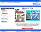 5 Brain Teaser Games: Volume 1 Windows The install menu describes each game, this is Ultimate Su Doku