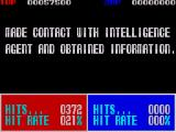 Operation Thunderbolt ZX Spectrum End of level statistics