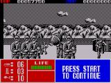 Operation Thunderbolt ZX Spectrum Baddies throw grenades which need to be shot before they hit you